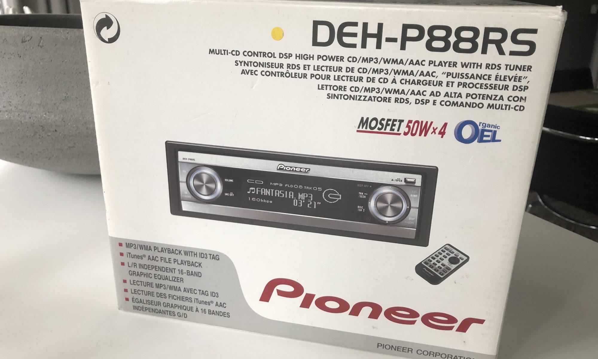 Pioneer DEH-P88RS
